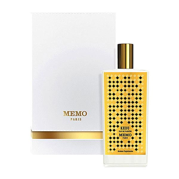 ممو کدو زنانه و مردانه (Memo Kedu)، یکی از عطرهای برند ممو پاریس است که در سال ۲۰۱۴ به بازار عطر و ادکلن روانه شد.
