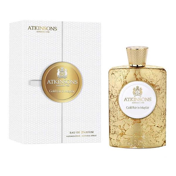 اتکینسون گلد فیر این می فیر زنانه و مردانه (Atkinsons Gold Fair In Mayfair)، در سال ۲۰۱۸ معرفی شده است.