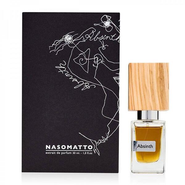 ناسوماتو Absinth ترکیبی است از خس خس، نت های سبز و گیاهی و افسنطین