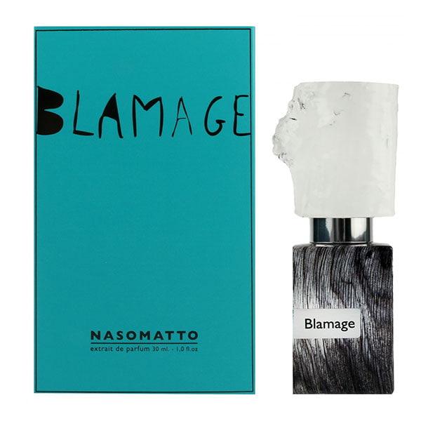 ناسوماتو بلاماج در گروه بویایی چوبی قرار گرفته است