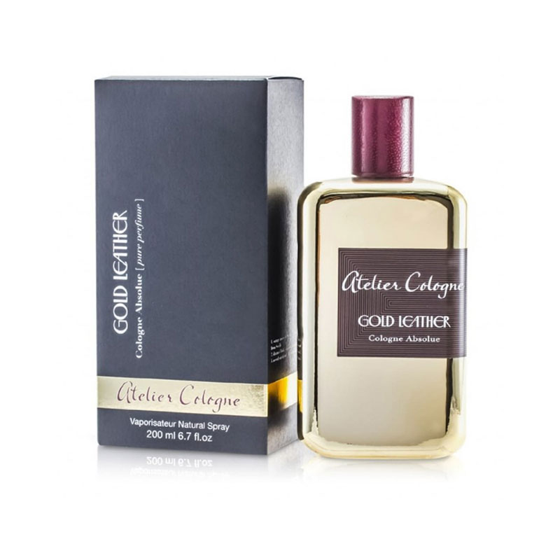 عطر ادکلن آتلیه کلون گلد لدر زنانه و مردانه (Atelier cologne Gold Leather)، یکی از لوکس ترین عطرهای برند آتلیه کلون است.