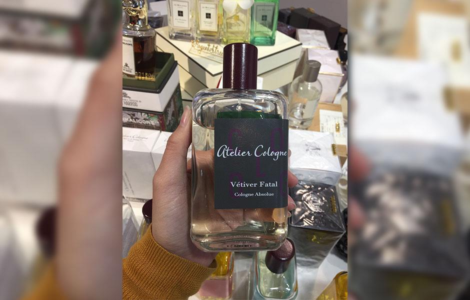 عطر ادکلن آتلیه کلون وتیور فتال زنانه و مردانه (Atelier cologne Vetiver Fatal)، یکی از عطرهای برند آمریکایی آتلیه کلون است