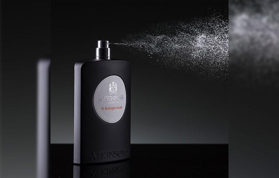 اتکینسون ۴۱ بارلینگتون آرکید در گروه بویایی چوبی معطر قرار گرفته است.