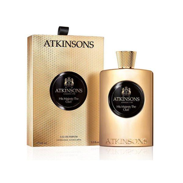 عطر ادکلن اتکینسون هیز مجستی د عود مردانه (Atkinsons His Majesty the Oud)، در سال ۲۰۱۶ و توسط برند اتکینسون روانه بازار عطر و ادکلن شد.