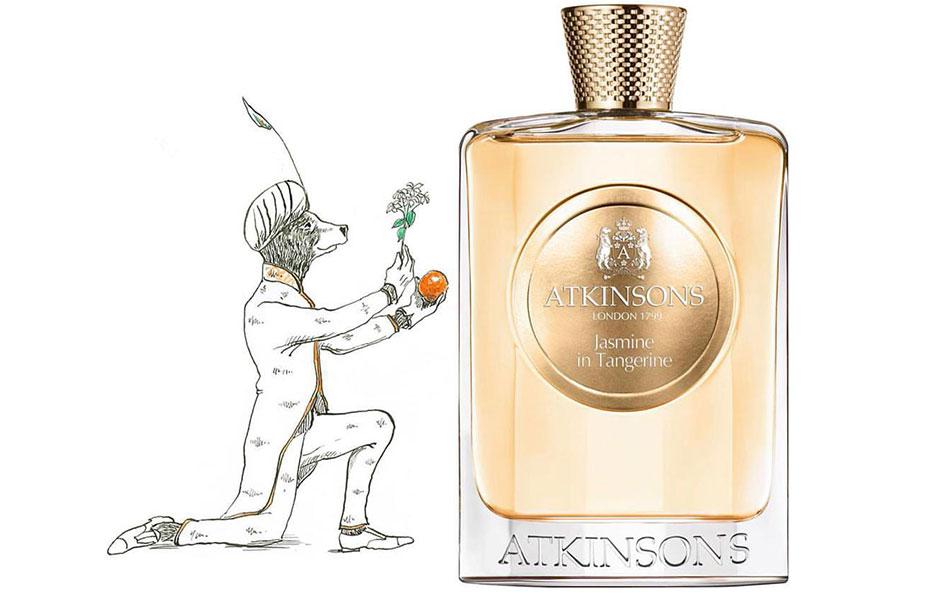 اتکینسون جاسمین این تانجرین به دلیل طبع خنک و رایحه شیرین و گورماندی که دارد، حس تازگی را به ارمغان می آورد.