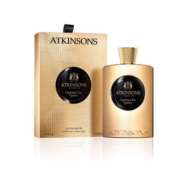عطر ادکلن اتکینسون عود سیو د کویین زنانه (Atkinsons Oud save the Queen)، یکی از عطرهای کلکسیون The Oud Collection است که در سال ۲۰۱۳ به بازار عطر و ادکلن معرفی شد.