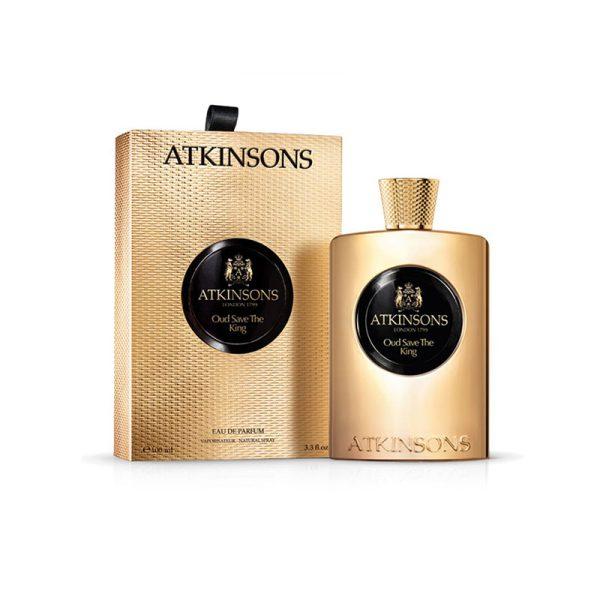 عطر ادکلن اتکینسون عود سیو د کینگ مردانه (Atkinsons Oud save the king)، یکی از محبوب ترین و شناخته شده ترین عطرهای برند انگلیسی اتکینسون است.