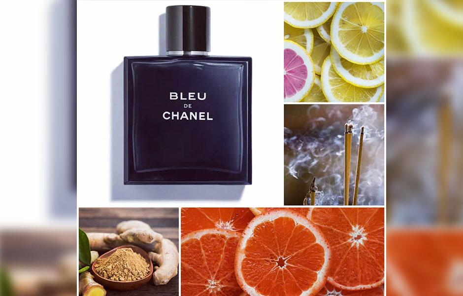 نت های اولیه Chanel Bleu De chanel ادو تویلت، لیمو، فلفل صورتی، گریپ فروت و نعناع هستند.