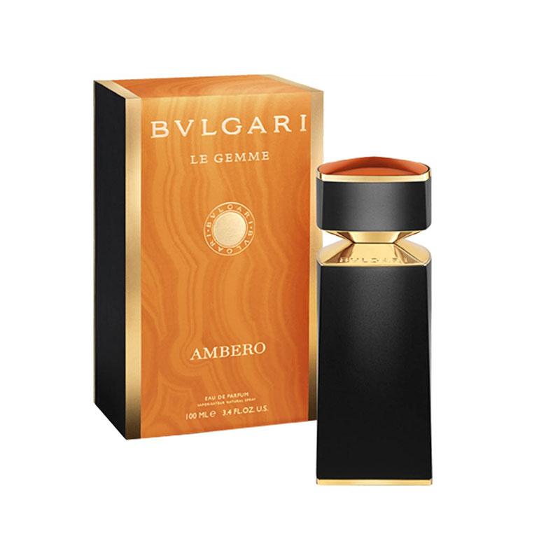 بولگاری امبرو به عنوان یک عطر غنی در گروه بویایی چوبی شرقی قرار گرفته است