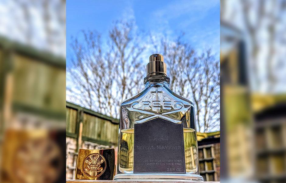 این عطر نیش (Creed Royal Mayfair) ، پخش بوی متوسطی دارد