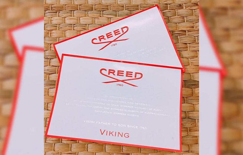 سمپل کرید وایکینگ مردانه (Creed Viking Sample)، یکی از عطر های معروف و پرطرفدار برند فرانسوی کرید است که در سال 2017 تولید شد.