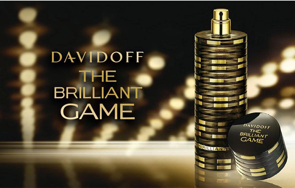 دیویدوف د بریلیانت گیم مردانه (Davidoff The Brilliant Game) با نت هایی از مشروب تلخ ایتالیایی، شراب شیرین ورموت، توت قرمز، پرتقال تلخ، لیمو و مریم گلی آغاز می شود.