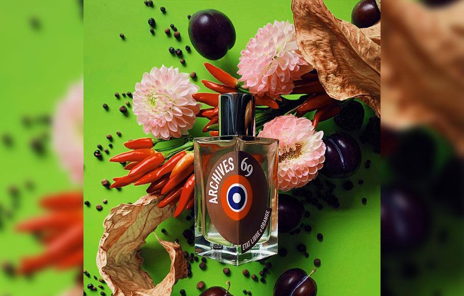 فلفل، توت و پرتقال ماندارین اولین نت هایی هستند که از ات لیبق دوقانژ آرشیو ۶۹ به مشام شما می رسند.