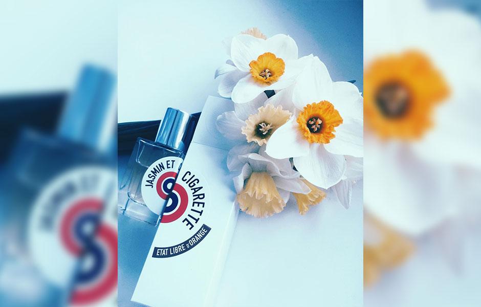 آنچه که به عنوان هرم بویایی ات لیبق دوقانژ جزمین سیگارت (Etat Libre D'Orange Jasmin Et Cigarette) در سایت فراگرانتیکا آورده شده، ترکیبی است از نت های: گل یاس، تنباکو، زردآلو، یونجه، مشک، سدر، زیره، لوبیا تونکا، عنبر