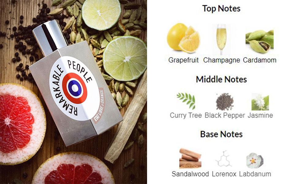 عطر ریمارکبل پیپل از برند ات لیبق دوقانژ (اتات لیبره د اورنج)، رایحه تلخ و شیرینی دارد.