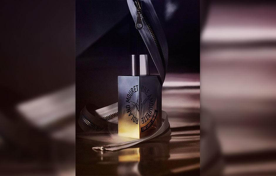 عطر رولند مورت، پخش بوی متوسطی دارد