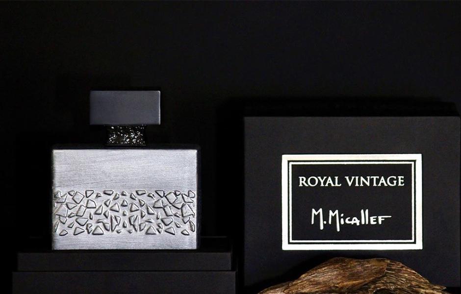 در سال 2013 که این عطر (M.Micallef Royal Vintage) به بازار روانه شد، شیشه ای دایره ای داشت و مدل نوشتن برند ام میکالف به گونه ای بود که شاید M ها با P اشتباه گرفته می شدند.