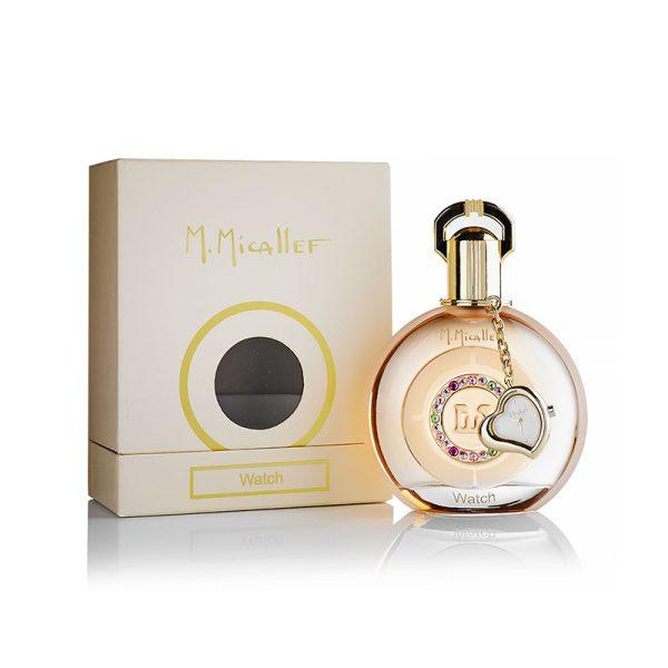عطر ادکلن ام میکالف واچ زنانه (M.Micallef Watch)، یکی از محصولات برند فرانسوی ام میکالف (مارتین میکالف) است که در سال 2002 تولید شد.