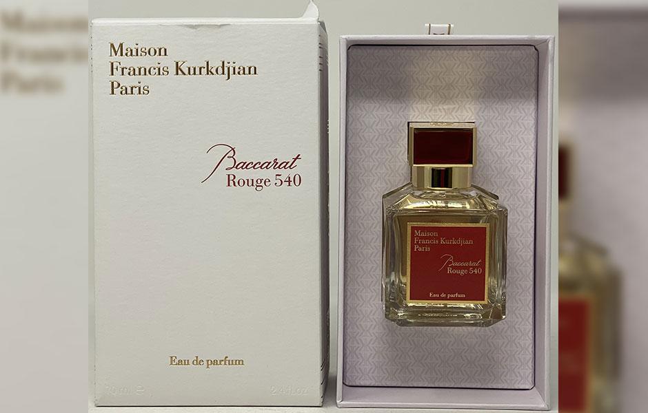 میسون فرانسیس کرکجان باکارات رژ 540 ادو پرفیوم (Maison Francis Kurkdjian Baccarat Rouge 540 EDP) یک عطر ادکلن گرم و شیرین با پخش بو و ماندگاری بسیار بالاست.