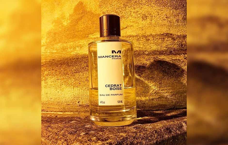 مانسرا سدرات بویس (Mancera Cedrat Boise)، عطری با گروه بویایی مرکبات معطر و دارای رایحه شیرین است که طبعی خنک دارد.