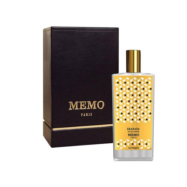 عطر ادکلن ممو گرانادا زنانه (Memo Granada)، از لوکس ترین عطرهای زنانه برند فرانسوی ممو پاریس است.