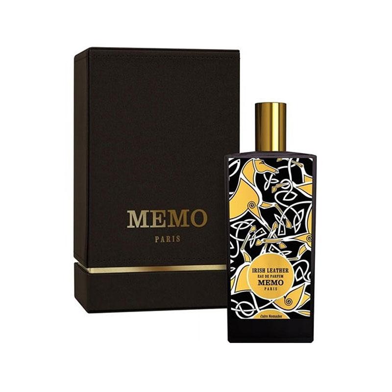 عطر ادکلن ممو آیریش لدر زنانه و مردانه (Memo Irish Leather)، محصولی از برند فرانسوی و لاکچری ممو پاریس است که در سال 2013 میلادی تولید شده است.