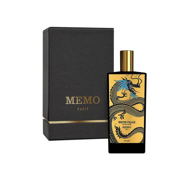 عطر ادکلن ممو وینتر پالاس زنانه و مردانه (Memo Winter palace)، یک عطر لاکچری از کمپانی فرانسوی ممو پاریس است.