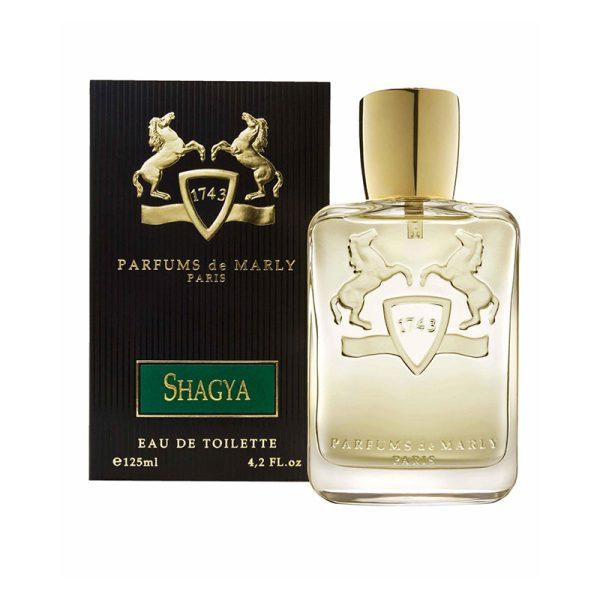 عطر ادکلن پرفیوم د مارلی شاگیا مردانه (Parfums De Marly Shagya)، یکی از محبوب ترین عطرهای برند فرانسوی پرفیوم د مارلی است که در سال 2009 به بازار عطر و ادکلن معرفی شد.