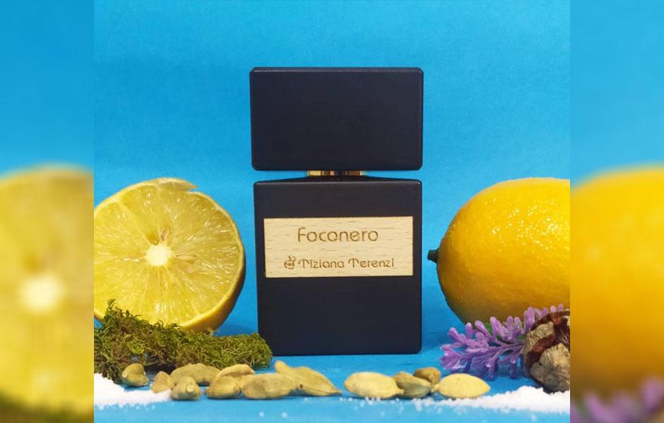 تیزیانا ترنزی فوکونرو Tiziana Terenzi Foconero را می توان به عنوان یکی از پر قدرت ترین عطرهای خنک معرفی کرد.