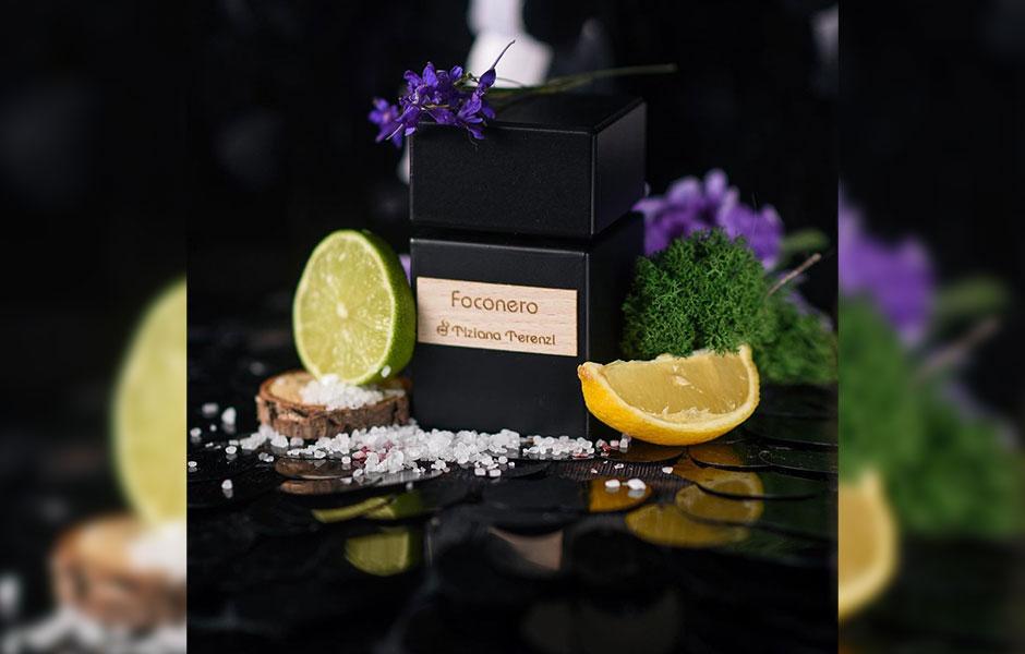 . لیمو ایتالیایی، ترنج و لیمو روایحی مرکباتی هستند که در نت های آغازین تیزیانا ترنزی فوکونرو به کار برده شده اند