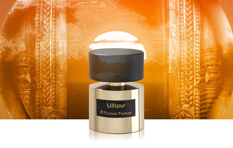 لیلیپور با یک بطری طلایی گرانبها طراحی شده است که پر از روح متعالی آن مکان است.