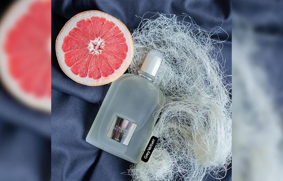عطر مردانه با رایحه خس خس قوی، به همراه آکوردهای ظریفی از چوب، مرکبات، ادویه ای و گلی.