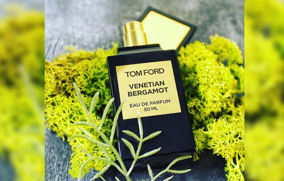 تام فورد ونشن برگاموت Tom ford Venetian Bergamot پراکندگی متوسطی دارد.