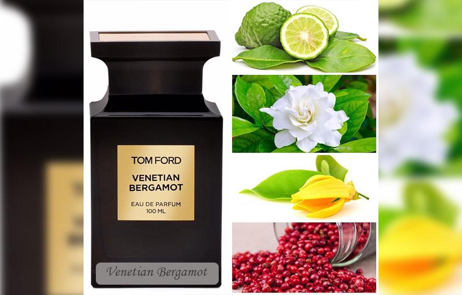 ترنج عطر و بویی مرکباتی به ونشن برگاموت می بخشد