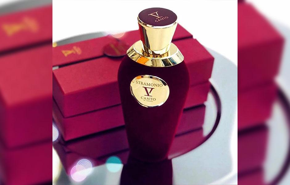 عطر ادکلن وی کانتو استرامونیو زنانه و مردانه (V Canto Stramonio)، محصولی از برند ایتالیایی وی کانتو یا کوئینتو کانتو است