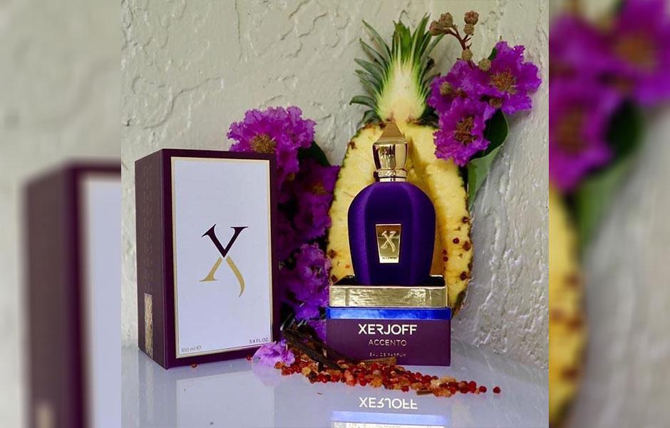 سنبل و آناناس، دو نت خاص و کم نظیری هستند که برای آکورد آغازین زرجف اکسنتو به کار گرفته شده اند.