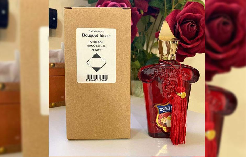 Xerjoff Casamorati Bouquet Ideale Tester از معروف ترین و محبوب ترین عطرهای کلکسیون کازاموراتی ۱۸۸۸ برند ایتالیایی زرجف است.