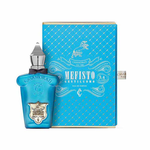 ، عطر ادکلن زرجف مفیستو جنتیلومو (مفیستو جنتیلو اومو) به عنوان یک عطر مردانه خنک و شیرین شناخته می شود که در گروه مرکبات معطر قرار گرفته است.