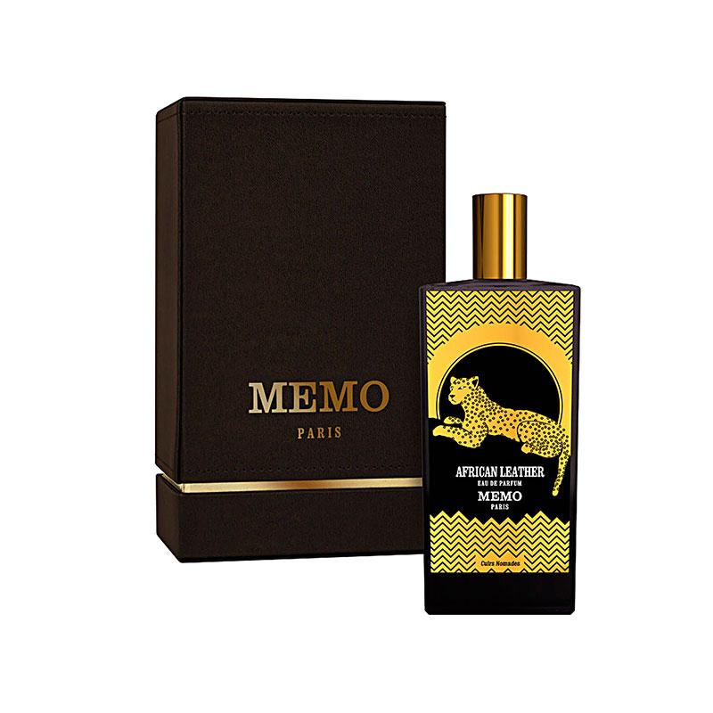 عطر ادکلن ممو آفریکن لدر زنانه و مردانه (Memo African Leather)، عطری لوکس از برند فرانسوی ممو پاریس است که در سال 2015 میلادی طراحی و روانه بازار عطر و ادکلن شد.