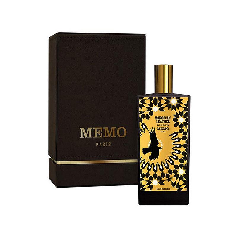 عطر ادکلن ممو موروکن لدر زنانه و مردانه (Memo Moroccan Leather)، عطری لوکس از برند فرانسوی ممو پاریس است که در سال 2018 میلادی طراحی و روانه بازار عطر و ادکلن شد.